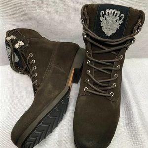 Blackstone Brown Suede Distressed Boots EUR 43